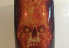 Hellfire Custom Digital Motorcycle Graphics