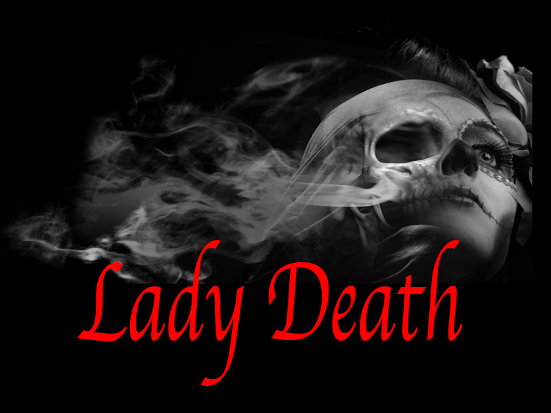 Lady Death Custom Digital Motorcycle Graphics